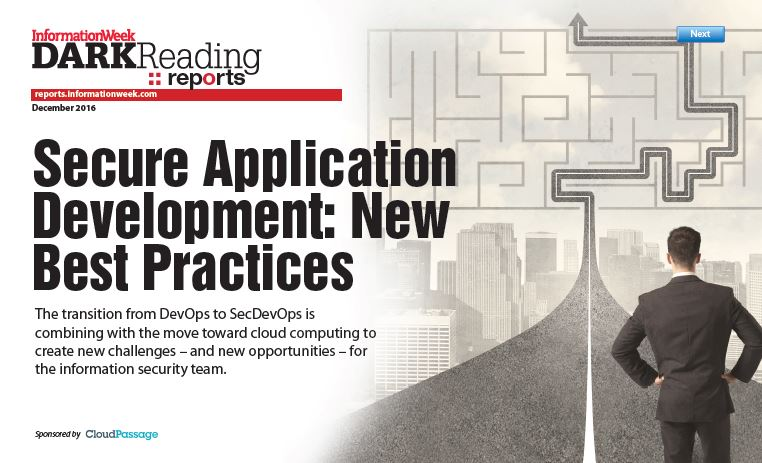 Secure Application Development - New Best Practices
