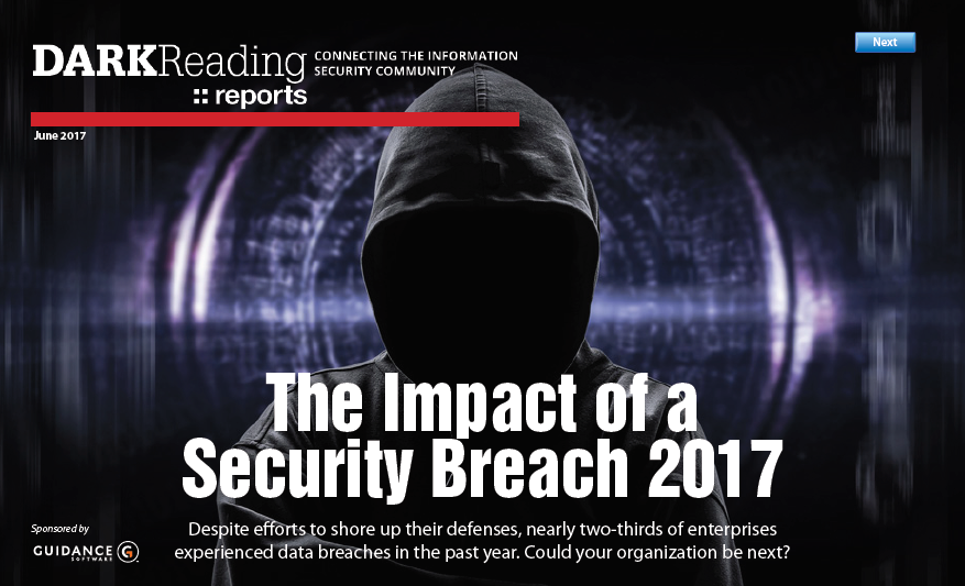 The Impact of a Security Breach 2017