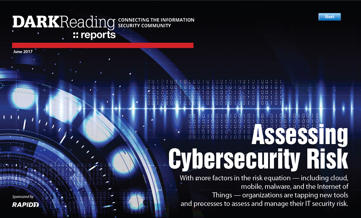 [Strategic Security Report] Assessing Cybersecurity Risk