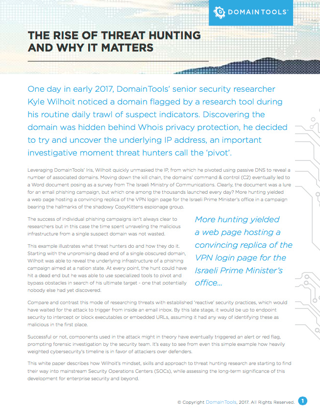 The Rise of Threat Hunting and Why it Matters | Tech Library