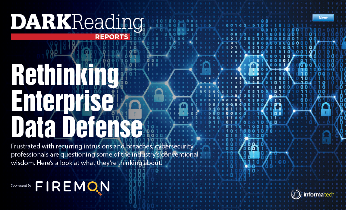 Rethinking Enterprise Data Defense