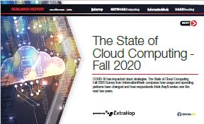 The State of Cloud Computing - Fall 2020